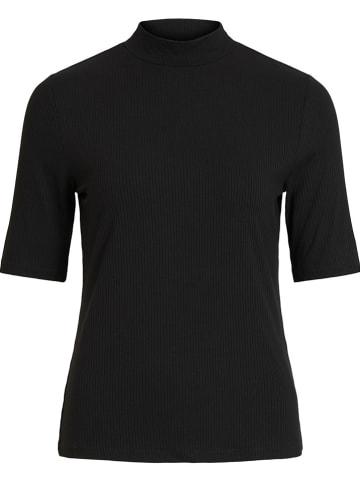 "Vila Koszulka ""Solitta"" w kolorze czarnym"