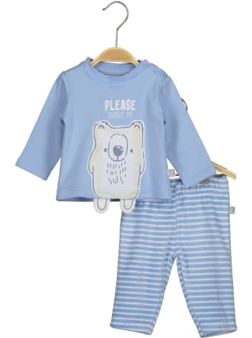 Blue Seven 2-delige outfit lichtblauw