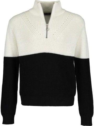 Blue Seven Sweter w kolorze czarno-białym