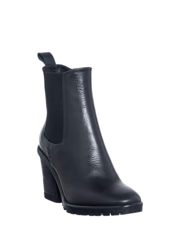 Manufacture D'Essai Leder-Chelsea-Boots in Schwarz