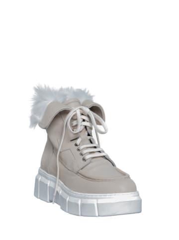 Manufacture D'Essai Leder-Boots in Creme