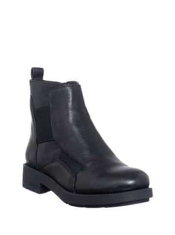 Manufacture D'Essai Leder-Boots in Schwarz