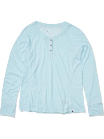 "Marmot Trainingsshirt ""Shasta"" lichtblauw"