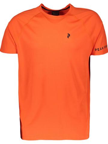 Peak Performance Funktionsshirt in Orange
