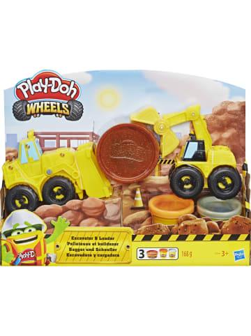 Play-doh Zestaw do zabawy plasteliną z akcesoriami - 3 x 56 g - 3+