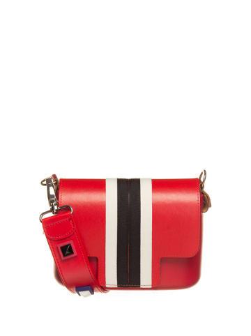 "O Bag Schoudertas ""O Pocket"" rood - (B)19 x (H)13 x (D)6 cm"
