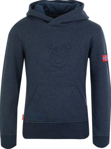 "Trollkids Sweatshirt ""Kristiansand"" donkerblauw"