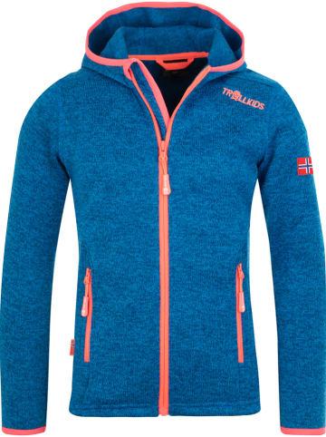 """Trollkids Fleece vest """"Jondalen XT"""" blauw"""