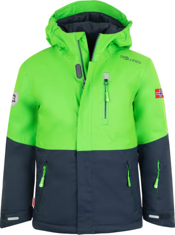 "Trollkids Ski-/snowboardjas ""Hallingdal"" donkerblauw"