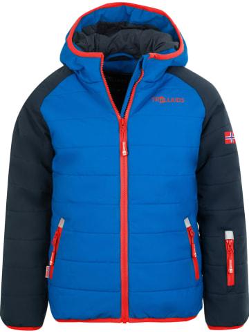 "Trollkids Ski-/snowboardjas ""Hafjell PRO"" blauw/donkerblauw"