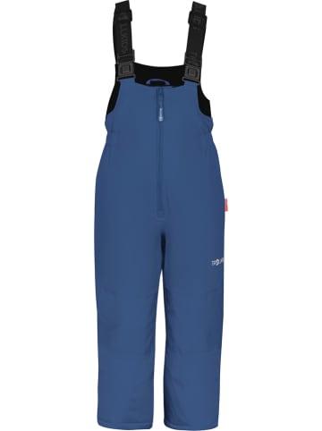"""Trollkids Spodnie narciarskie """"Nordkapp"""" w kolorze niebieskim"""