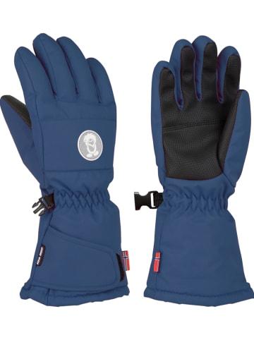 "Trollkids Funktions-Handschuhe ""Narvik"" in Dunkelblau"
