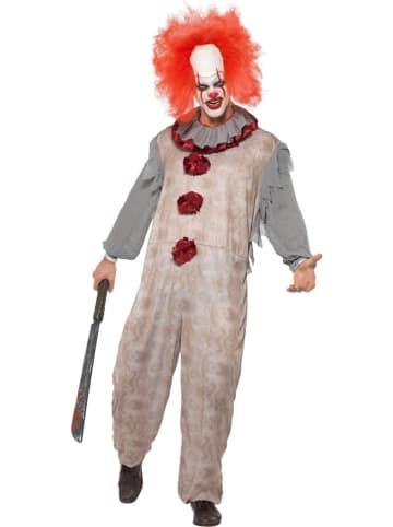 "Smiffys 2tlg. Kostüm ""Vintage Clown"" in Taupe"