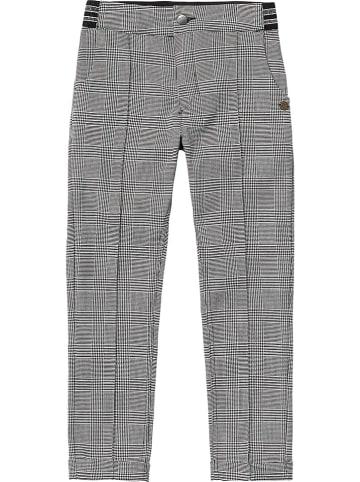 Vingino Spodnie w kolorze czarno-białym