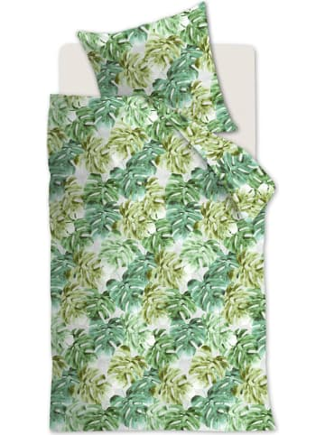 """Beddinghouse Jersey beddengoedset """"Hawaii"""" groen"""