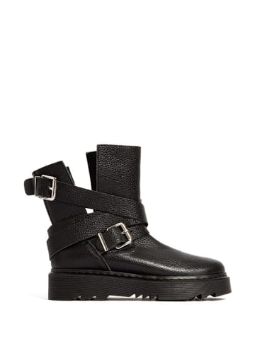 L37 Leren boots zwart