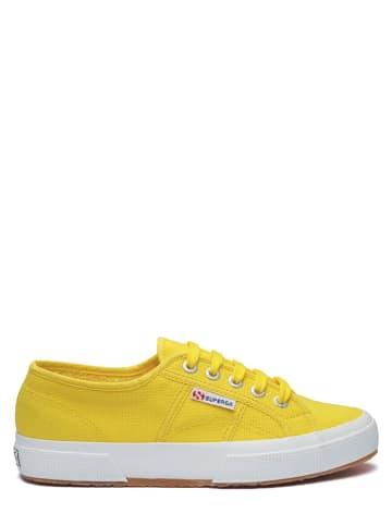 """Superga Sneakersy """"Cotu Classic"""" w kolorze żółtym"""