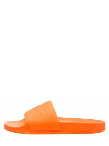 """Superga Klapki """"Pvcu"""" w kolorze jaskrawopomarańczowym"""