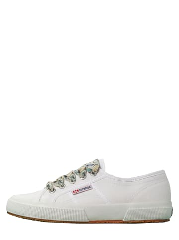 "Superga Sneakers ""Cotw Printed Laces"" wit"