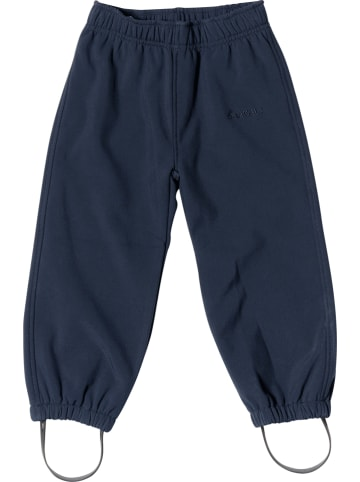 """HULABALU Spodnie softshellowe """"Spritz"""" w kolorze granatowym"""