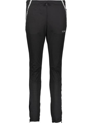 CMP Spodnie softshellowe w kolorze czarnym