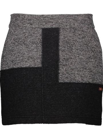 CMP Spódnica w kolorze szaro-czarnym