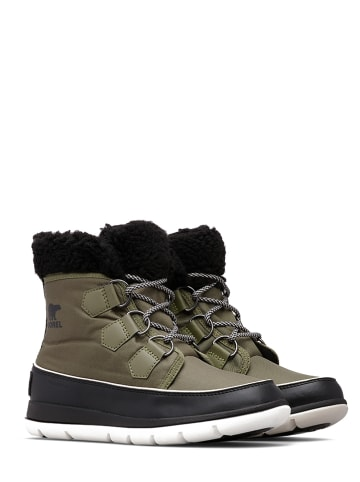 "Sorel Boots ""Explorer Carnival"" in Oliv"