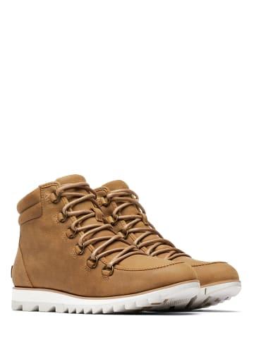 "Sorel Leder-Boots ""Harlow"" in Hellbraun"