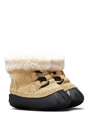 """Sorel Winterboots """"Cariebootie"""" beige/zwart"""