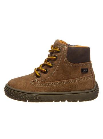 "Lurchi Leren sneakers ""Johann-Tex"" lichtbruin"