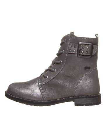 Lurchi Leder-Boots in Grau