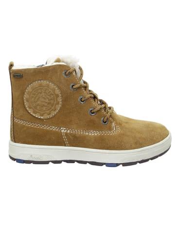 "Lurchi Leder-Sneakers ""Doug-Tex"" in Beige"
