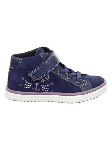 "Lurchi Leder-Sneakers ""Sienna-Tex"" in Dunkelblau"