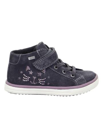 """Lurchi Leren sneakers """"Sienna-Tex"""" antraciet"""