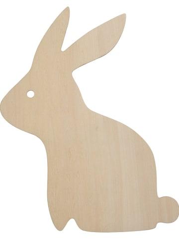 "Rätt Start Lampka nocna ""Rabbit"" w kolorze brązowym - 40 x 35 cm"