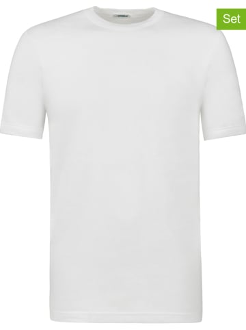 COTONELLA Koszulki (2 szt.) w kolorze białym
