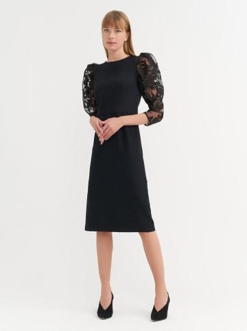 BGN Sukienka w kolorze czarnym