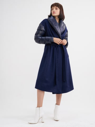 BGN Mantel donkerblauw