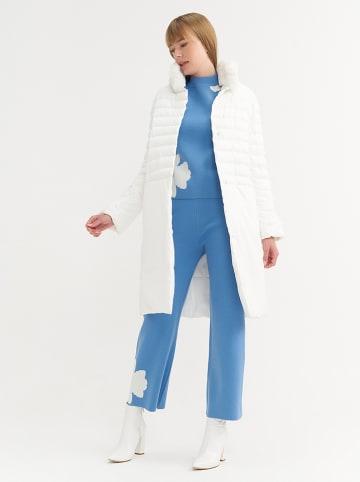 BGN Płaszcz zimowy w kolorze białym