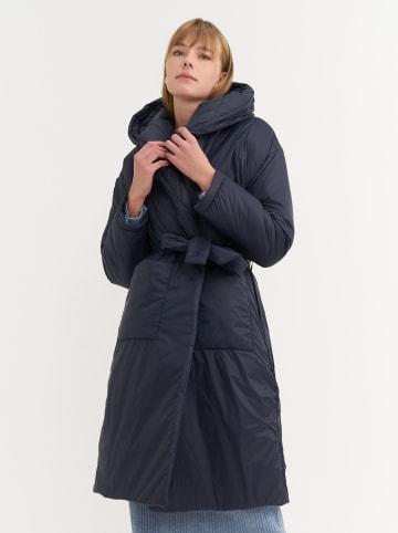 BGN Płaszcz zimowy w kolorze granatowym
