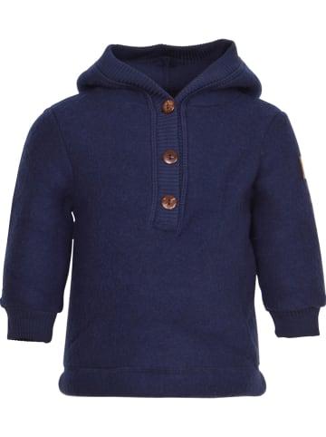 Mikk-line Wełniany sweter w kolorze granatowym