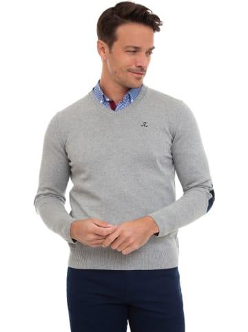 """SIR RAYMOND TAILOR Sweter """"Jerez"""" w kolorze jasnoszarym"""