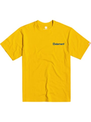 """Element Shirt """"Joint"""" in Gelb"""