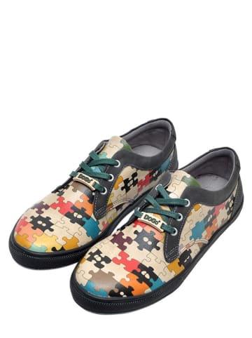 """Dogo Sneakers """"In The Puzzle"""" meerkleurig"""