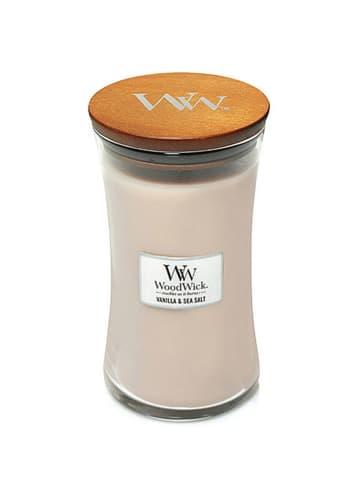 WoodWick Duża świeca zapachowa - Vanilla & Sea Salt
