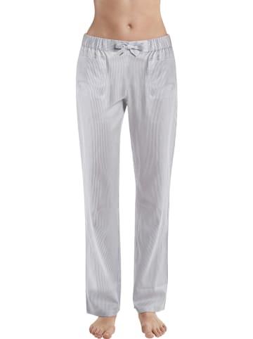 Marc O´Polo Spodnie piżamowe w kolorze biało-szarym
