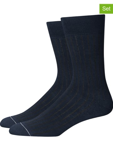 Marc O´Polo 4-delige set: sokken donkerblauw