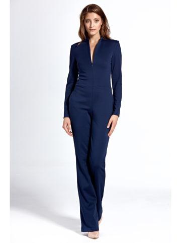 Nife Jumpsuit donkerblauw