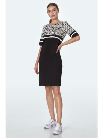Nife Kleid in Schwarz/ Weiß