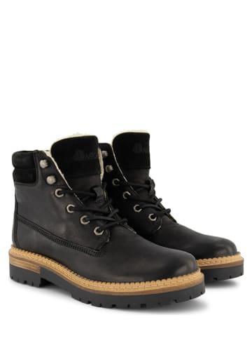 "NoGRZ Leder-Boots ""C.Ribart"" in Schwarz"